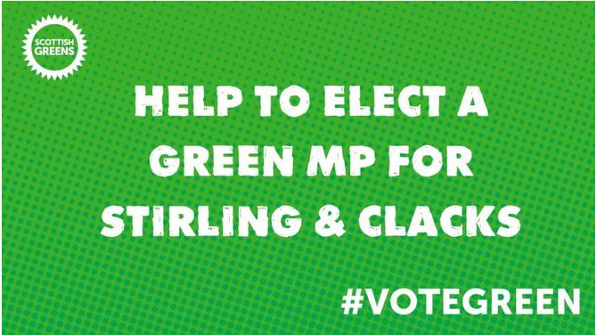 Help elect a Green MP for Stirling