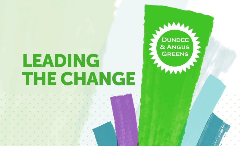 Dundee & Angus Greens - Leading the change